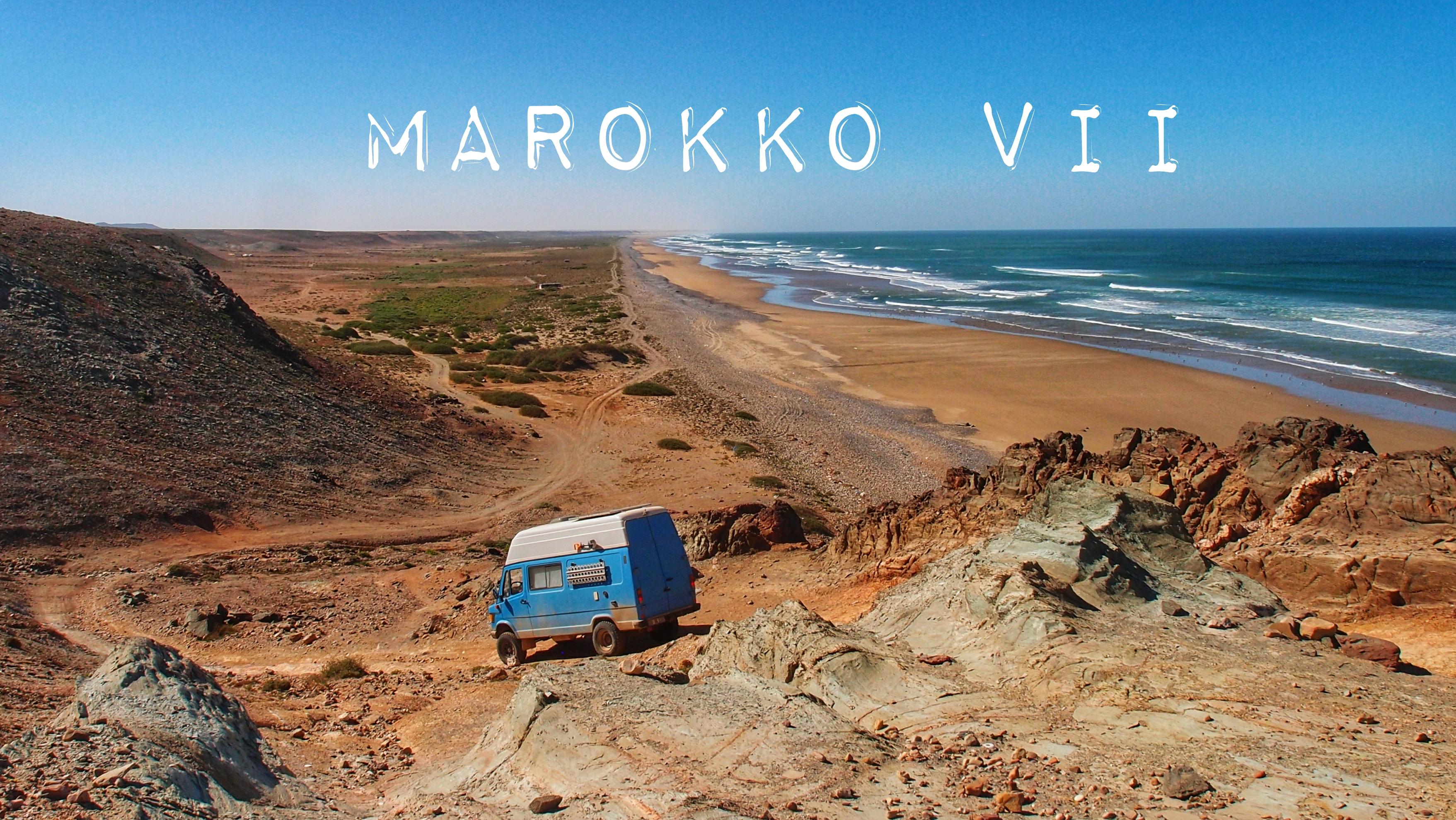 Entlang Marokkos Südküste bis zum Plage Blanche