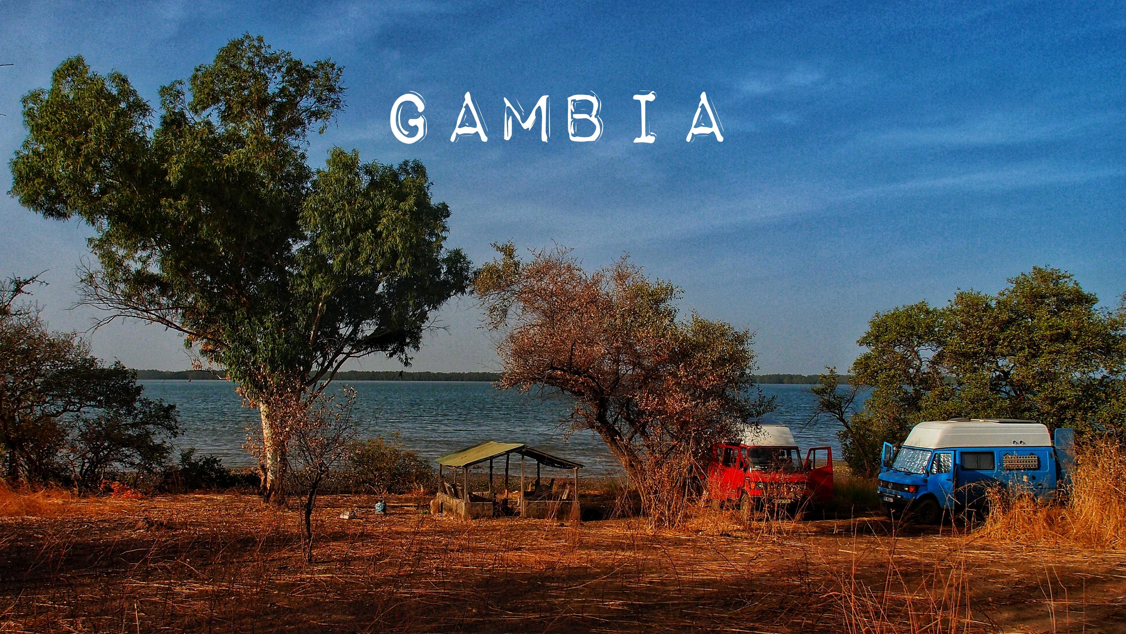 Ein Abstecher nach Gambia