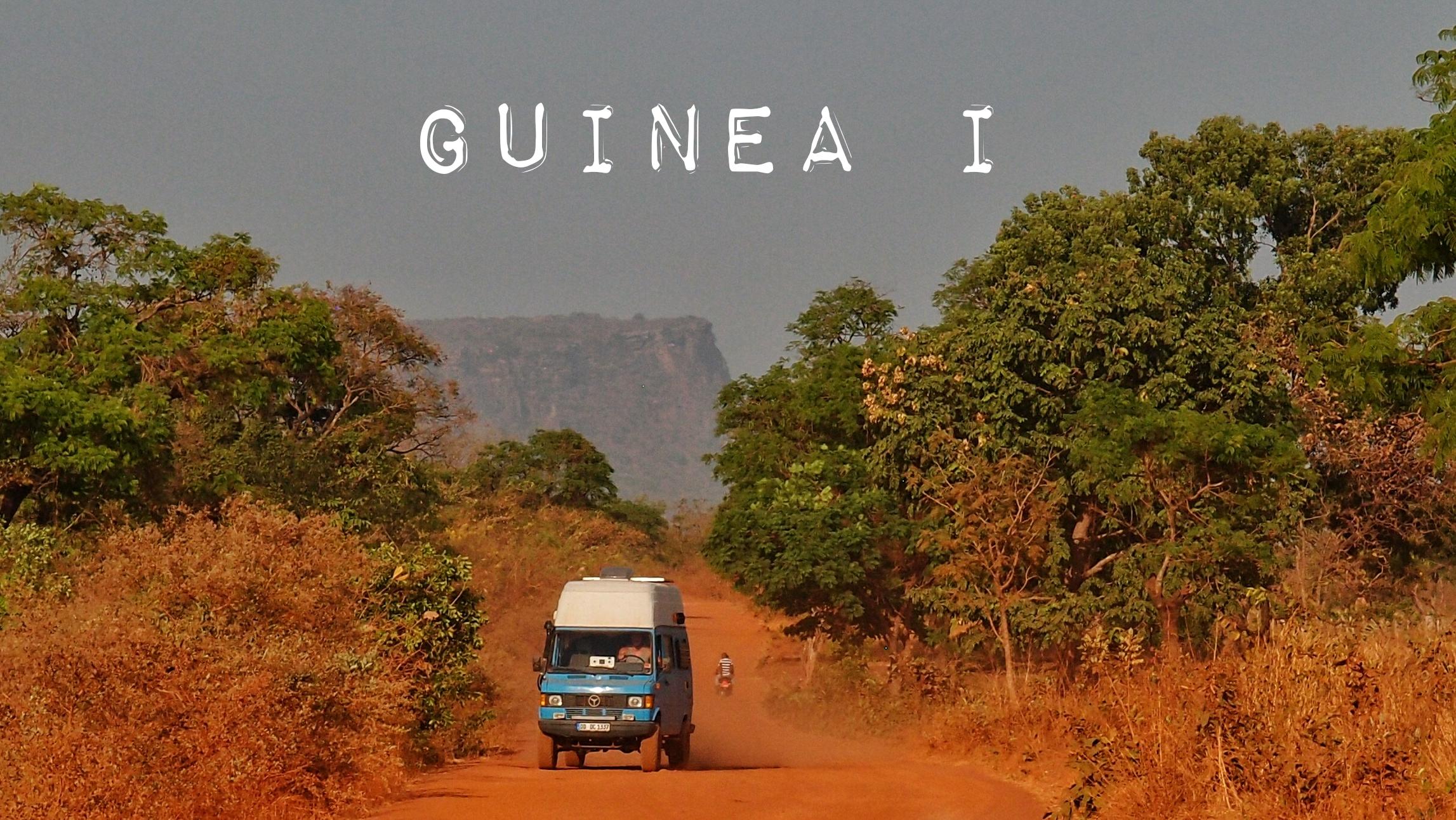 Guinea – Offroad im Dunkeln mit blindem Passagier