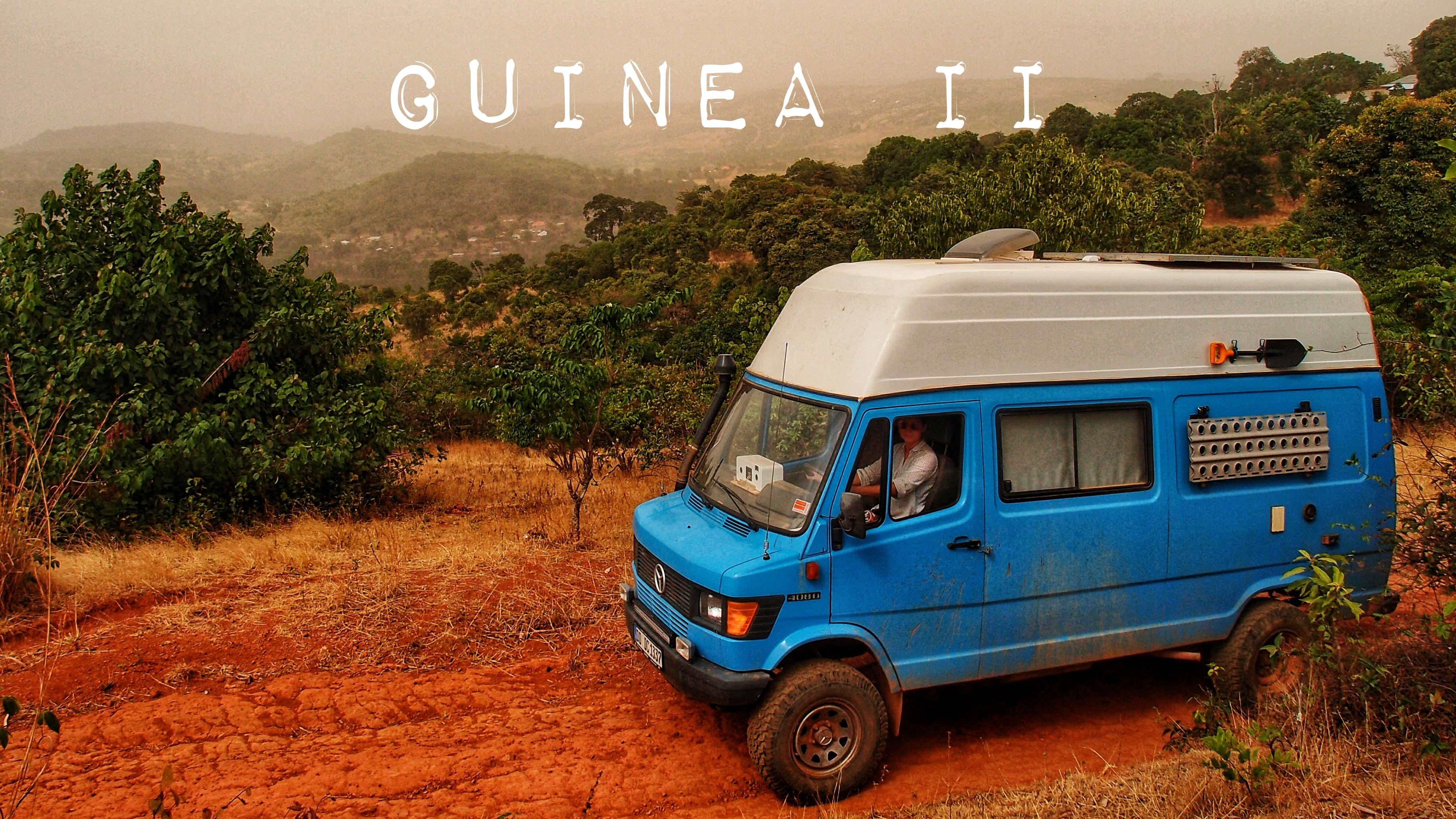 Guinea – Auto beladen für Fortgeschrittene